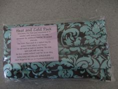 HOLIDAY SALE microwavable heating  pad rice flax by MILKYBABY50, $14.90
