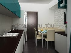 idei living apartament - Căutare Google Living, Conference Room, Google, Kitchen, Table, Furniture, Home Decor, Houses, Cooking