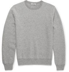 Canali - Diamond-Patterned Cashmere Sweater | MR PORTER