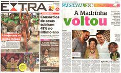 #BethCarvalho 2016 Jornal Extra