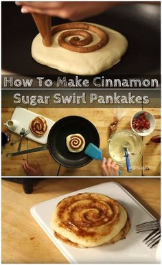 Pancakes are one of the quintessential breakfast foods. Airy, fluffy and sweet, they epitomize breakfast and are a great way to turn a grumpy morning around. However, there's another sweet treat that's perfect to start a morning with and that's the famous cinnamon roll. What if you could combine the two into one delicious hybrid breakfast item that kids and adults would love? In this simple, yet brilliant recipe, you can make cinnamon roll pancakes that are incredible.