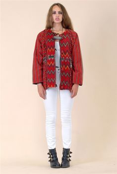 Ina Embroidered Jacket
