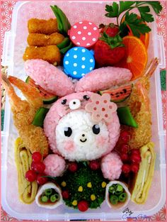 Cooking Gallery: Blushing Bunny Bento