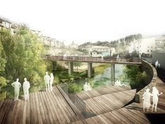 RIVER WALK WITH RECREATIONAL AREAS IN ARBÚCIES (architect) . xcm arquitectura: