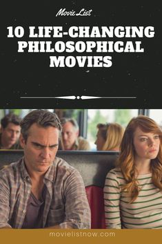 We've brought incredible movies for those who love philosophy. The listed works adhere in their plots to striking concepts in the field of philosophy, with characters who debate the roots … 10 Life-Changing Philosophical Movies. Netflix Movies, Top Movies, Scary Movies, Movies And Tv Shows, Movies To Watch List, Movie List, Outside Movie, Movies Worth Watching, Film Movie