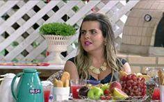 Fernanda toma café da manhã com Ana Maria