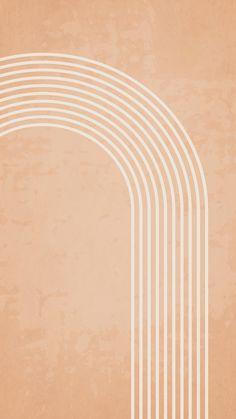 Abstract Boho Art Phone Wallpaper