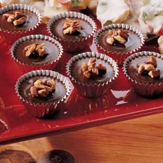 Microwave Truffles Recipe - I couldn't wait to make these chocolaty confections for the holidays,They're smooth, rich and so pretty topped with pecans. No one will ever guess how easy they are to make.