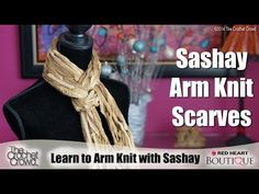 ▶ Learn to Arm Knit using Sashay - YouTube