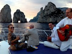 Amalfi, Capri, Sorrento, Positano, Ischia, Procida, Naples... Choose your dream destination! Celebrate your honeymoon with dinner by candelight and live music.  Web Site: www.amalfisails.com E-Mail: info@amalfisails.it