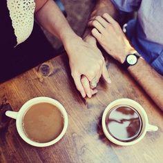 Tumblr | holding hands #love #couple    Inkedfingers.com | Margaret & Scott