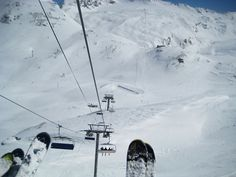 Leissieres Express chairlift at Val d'Isère
