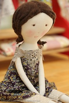 Jess Brown Rag Doll