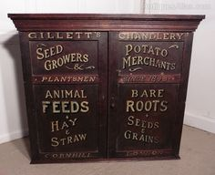 Victorian Painted Cupboard Farm Shop Country Store - Antiques Atlas ?500
