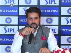 BCCI President Lt. Anurag Thakur announces the tender process for IPL - Indian Premier League - Global Media and Rights (TV & Digital).