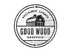 Good Wood logo - Matt Lehman