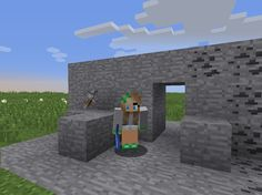 Student created @snapguide tutorial: How to Create Piston Doors in #Minecraft #redstone #stuvoice #stuchoice