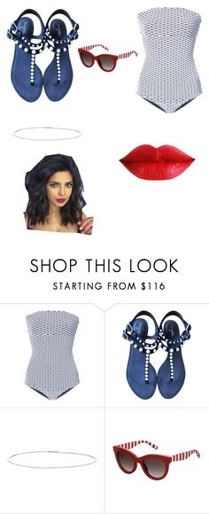"""nice dip in the morning"" by maguireviolet ❤ liked on Polyvore featuring ONIA, Chanel, Suzanne Kalan and Tommy Hilfiger"