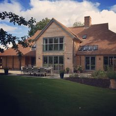 """""""Had a brilliant day styling photo shoots this week - including this lovely contemporary barn"""""""
