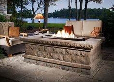 Backyard Landscaping Ideas with Fire Pit . Backyard Landscaping Ideas with Fire Pit . Backyard Design Ideas with Fire Pit 8 Exterior Cool Fire Modern Outdoor Fireplace, Outdoor Fireplace Designs, Backyard Fireplace, Outdoor Living, Outdoor Fireplaces, Stone Fireplaces, Outdoor Rooms, Porches, Fire Pit Landscaping