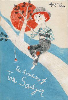 alessandra vitelli illustratrice: The adventure of Tom Sawyer