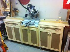 New Improved Miter Saw Station