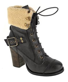 This Black Bosco Leather Boot by Chinese Laundry is perfect! #zulilyfinds