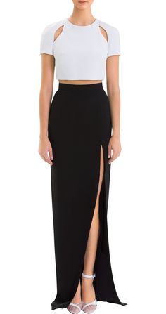 Silk High Slit Skirt........ this is the exact replica of what Taylor Swift wore =))))