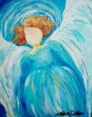 Angel #5  2010 Copyright Angela DeMuro  $20.00;To purchase a print go to: http://www.angelademuro.com/shop-angel-art.html