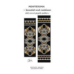 He encontrado este interesante anuncio de Etsy en https://www.etsy.com/es/listing/238344326/peyote-pattern-beadwork-aztec-montezuma