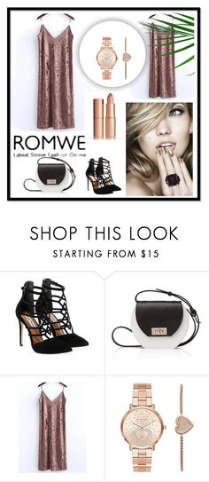 """ROMWE"" by havka ❤ liked on Polyvore featuring Steve Madden, Joanna Maxham and Michael Kors"