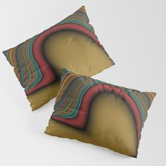 Give your pillows the makeover they deserve. Whether it's for your fancy new memory foam or your old go-to from back in the day, our pillow shams are sure to do your pillows proud. They're soft and cozy with colors that really pop. Available in Standard or King sizes. - Every product is made just for you - Set of 2 pillow shams - Single sided design with white on the reverse - Crafted with 100% premium microfiber polyester (equivalent to 300 thr...