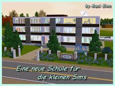 School by Maxi Sims - Sims 3 Downloads CC Caboodle