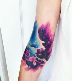 Awesome space tattoo!