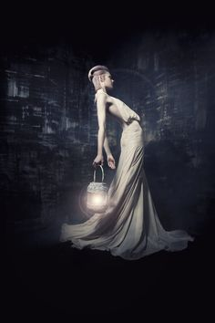 Angelique Luca Lang Couture by Sandra Schmidbaur, via Behance