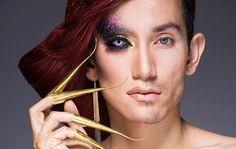 maquiagem drag queen