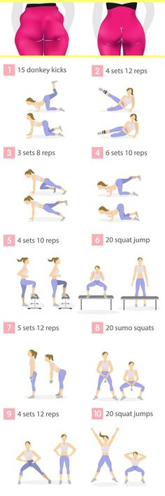 Do these 10 butt exercises every day, as an extra workout to your regular fitnes. - Do these 10 butt exercises every day, as an extra workout to your regular fitness routine. Fitness Workouts, Hip Workout, Fitness Motivation, Buttocks Workout, Fitness Quotes, Fitness Goals, Woman Workout, Week Workout, Butt Workouts