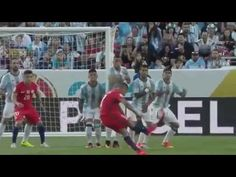 Argentina vs Chile 2 1 All Goals & Extended Highlights Copa America 2016 HD