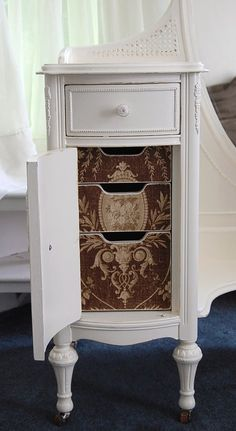 French Chic Vanity with  Mirror / the most by Daniscustomdesigns, $425.00