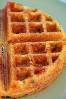 Jo and Sue: Cheddar Jalapeno Cornbread Waffles With Chili