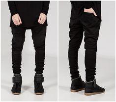 0-36 pants clothes represent blue black slp destroyed thin ...