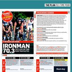 Ironman triathlon training plans. http://www.triradar.com/training-advice/half-ironman70-3-triathlon-training-plans/
