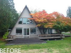 A-Frame Remodel   Stoner Architects   Seattle Residential & Commercial Architecture.