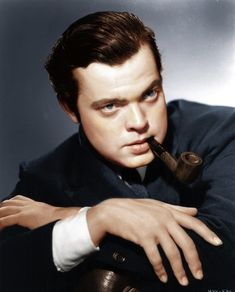 Spectacular Colorized B Photos of Historical Icons -Orson Welles