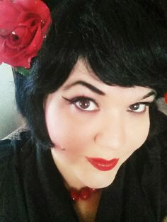 Rockabilly Rockabilly, Vintage Inspired, Wigs, My Style, Makeup, Inspiration, Fashion, Hair Wigs, Maquillaje