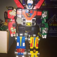 Master Motorized Voltron