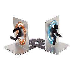 Portal Buchstützen Set aus 2 Aluminium-Buchstützen