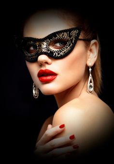 a beautiful woman wearing a masquerade mask - Image Beautiful Mask, Beautiful Women, Red Mask, Female Mask, Mask Girl, Lace Mask, Ulzzang Korean Girl, Carnival Masks, Stylish Girls Photos