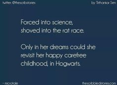At the end of each dream, Harry has to come back to the reality. Forced into ledgers, Shoved into the rat race. Only in her dreams could she revisit her happy carefree childhood Harry Potter Feels, Harry Potter Anime, Harry Potter Quotes, Harry Potter Universal, Harry Potter Fandom, Harry Potter World, Story Quotes, Words Quotes, Life Quotes