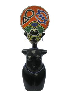 Akwaaba Fertility Doll neatly hand crafted and polished from Ghana